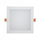 Spot LED Patrat Incastrabil Reglabil 15W 17cm 220V Alb Rece TKO