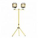Stativ Trepied Metalic Picioare Fixe 2 Proiectoare LED sau Halogen