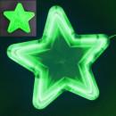 Stea Luminoasa de Craciun 30cm LEDuri Verzi 220V LC