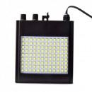 Stroboscop 108 LEDuri SMD Albe cu Senzor Muzica