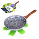 Tigaie Aluminiu Interior Granit 24cm Bohmann BH101524GRN