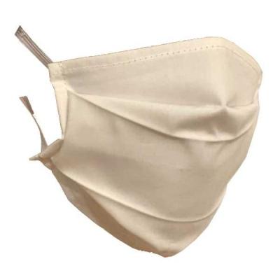10x Masca Faciala Bumbac Protectie Praf 2Strat.2 Pliuri Reutilizabile