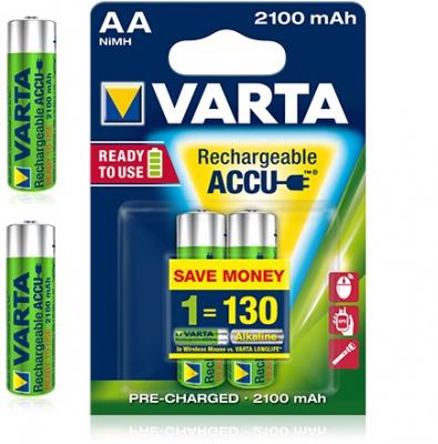 Acumulatori Varta AA 2100mAh 1.2V Ni-Mh Ready to Use