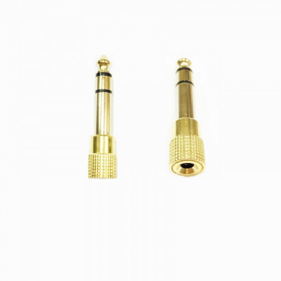 Adaptor  Metalic Jack pentru Microfon Mama 3.5mm Tata 6.3mm
