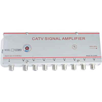 Amplificator Semnal TV 8 Iesiri 1020MK8 20dB