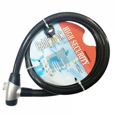 Antifurt Bicicleta cu Chei si Cablu de Otel 2x150cm 84727