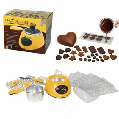 Aparat de topit ciocolata si set fondue 15W Chocolatiere