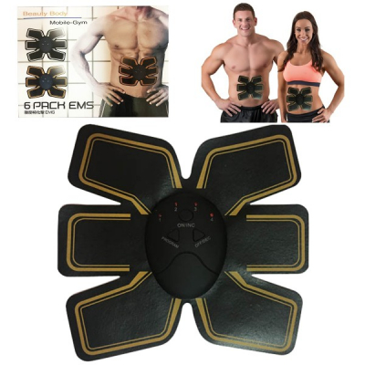 Aparat Fitness Electrostimulare Abdomen Beauty Body Six Pack EMS