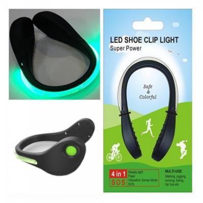 Banda luminoasa de siguranta 4in1 LED Shoe Clip Light TY791