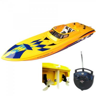 Barca Radiocomandata de mare viteza Max 30km/h 65x15x18cm HQ20113