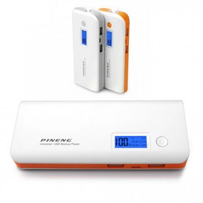Baterie Externa Power Bank  2USB Lanterna Pineng PN968 10000