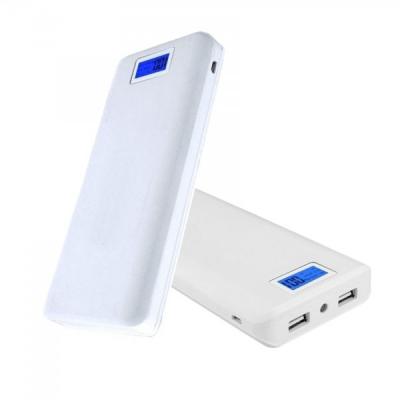 Baterie Externa Power Bank cu 2 USB si ecran LCD Power Box 20000
