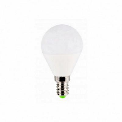 Bec LED G45 7W Alb Rece 6400K soclu E14 220V Glob Mat UB60073