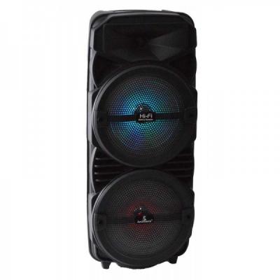 Boxa Karaoke Bluetooth Microfon Telecomanda Radio 57x24x20cm CH8803