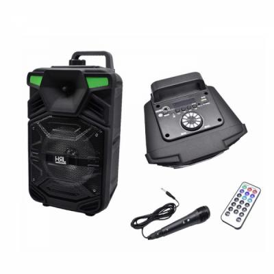 Boxa Portabila 38x27cm Microfon, BT, FM, USB, SD, Telecomanda JRH A64