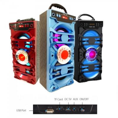 Boxa Portabila cu Bluetooth, Radio FM, AUX, Slot USB si SD MS190BT
