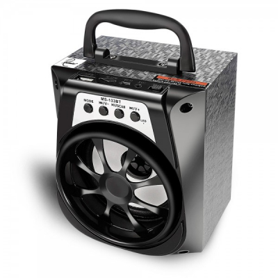 Boxa Portabila cu BT, FM, AUX, USB, SD MS133BT