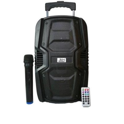 Boxa Portabila cu BT, FM, USB, MIC si Telecomanda JRH 621
