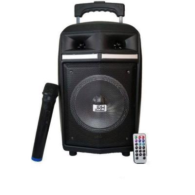 Boxa Portabila cu BT, FM, USB, MIC si Telecomanda JRH A83