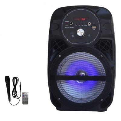 Boxa Portabila cu FM, USB, SD, MIC si Telecomanda Ailiang Lige A66