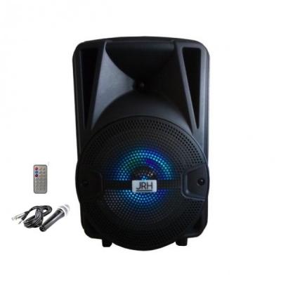 Boxa Portabila cu FM USB SD MIC si Telecomanda JRH X8