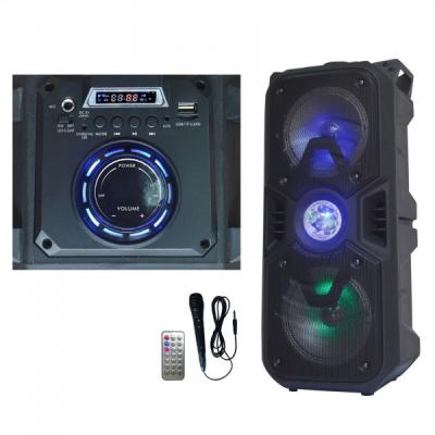 Boxa Portabila cu FM, USB, SD si Telecomanda Ailiang Lige A62