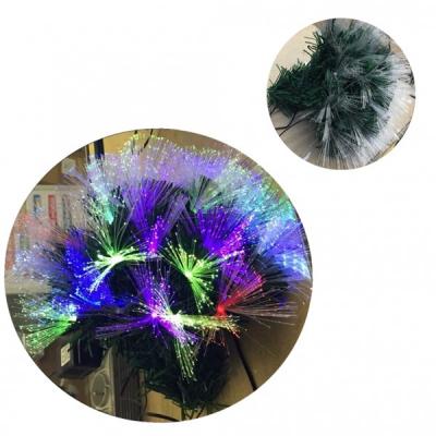 Buchet Brad Artificial de Craciun cu Fibra Optica BP