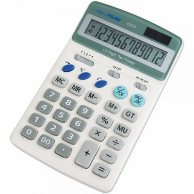 Calculator de Birou Milan 40920 12 Caractere