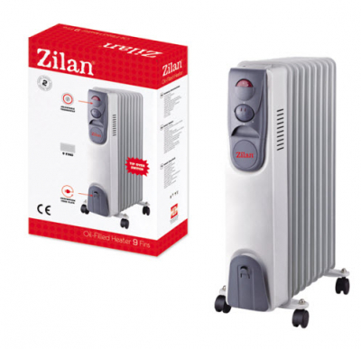 Calorifer Electric 9 Elementi Zilan ZLN2111 2000W