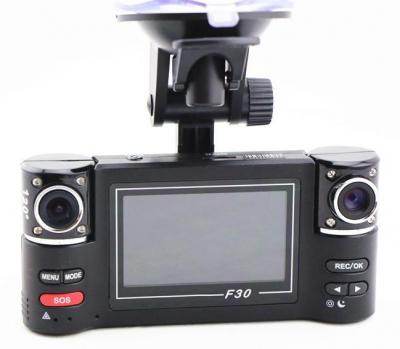 Camera Video AUTO Dubla cu Display Carway F30