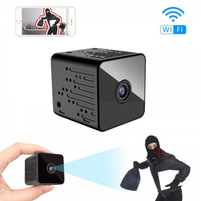 Camera Video Cubica HD cu IP Alimentare USB V380 Q9H