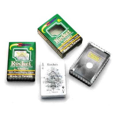 Carti de Joc Plastifiate Rocket 170271