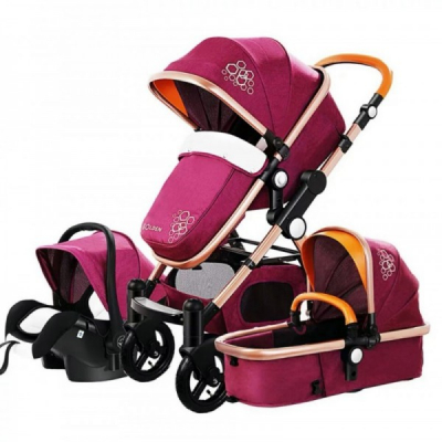 Carucior Multifunctional 3in1 JU Golden Baby T800 Mov