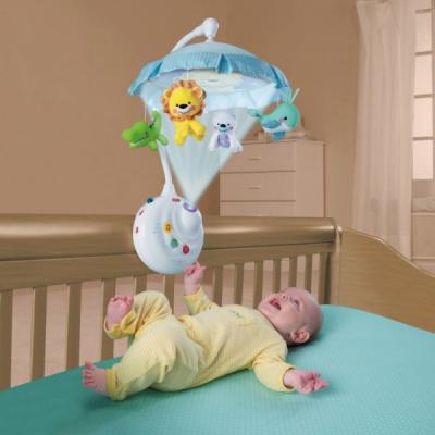 Carusel Bebe Muzical cu Proiectie si Telecomanda Smart Baby 63502