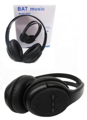 Casti Wireless MP3 Radio BAT Music FM 5800