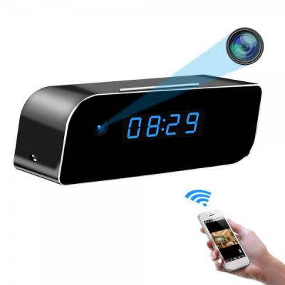 Ceas Birou cu Camera Ascunsa Spion HD 1080P IP WiFi Senzor EC41053