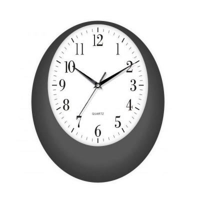 Ceas de perete Negru Oval KLJ7055
