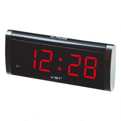 Ceas Digital Display LCD Rosu, Alarma si Functie Memorare Ora VST730