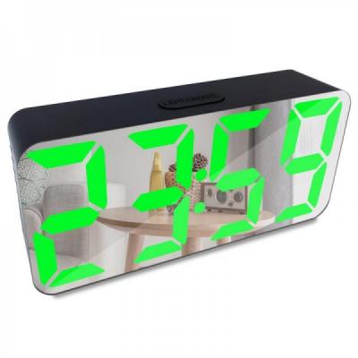 Ceas Digital tip Oglinda Alimentare USB DS3622X LED Verde