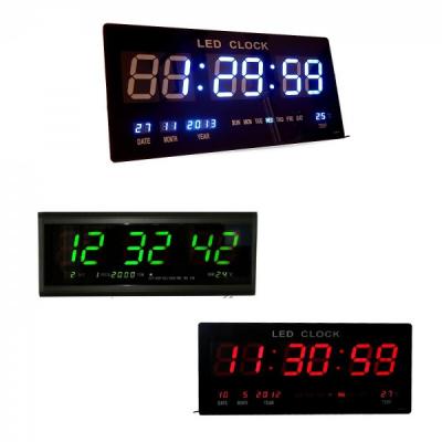 Ceas Electronic Digital Slim de Perete 4800, cu Display Mare 8cm