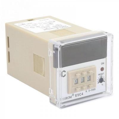 Controler Digital Temperatura E5C4 200/220V K 0-399 TEM-E5C4-DIG
