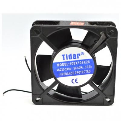 Cooler Ventilator Metalic 220V 0.06A 108x108x26mm Tidar