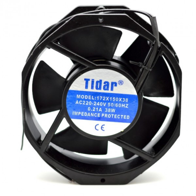 Cooler Ventilator Metalic 220V 0.21A 38W 172x150x38mm Tidar