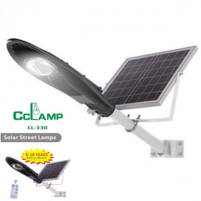 Corp Iluminat Exterior Lampa Solara COB LED 30W IP65 Telecomanda CL330
