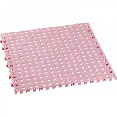 Covoras Baie tip Puzzle 9 piese 1mp Tuffex TP8032 Roz JU