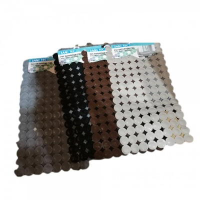 Covoras PVC pentru Baie 35x67cm Sanitec SN020, diverse culori