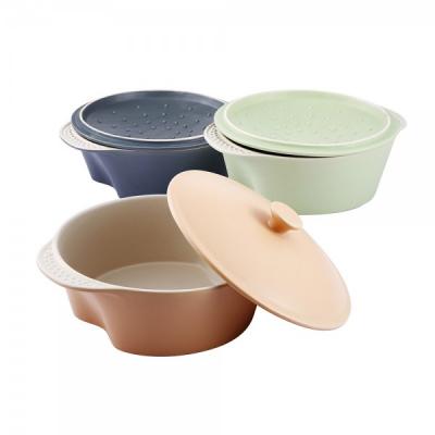 Cratita ceramica cu capac 2.5L Vabene VB6020065