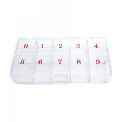 Cutie Depozitare din Plastic 10 compartimente Numerotate ARL P124