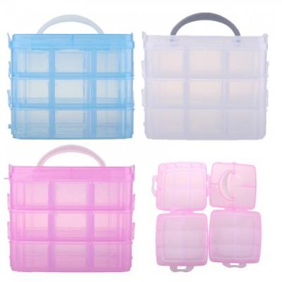 Cutie Depozitare din Plastic 3 etaje Detasabile Diverse Culori ARL P123