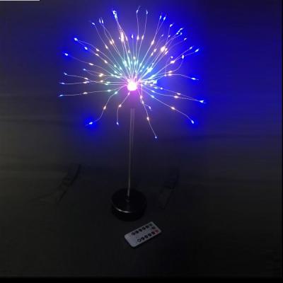 Decoratiune 200 LED 50cm pe Baterii cu Telecomanda Multicolora T8059